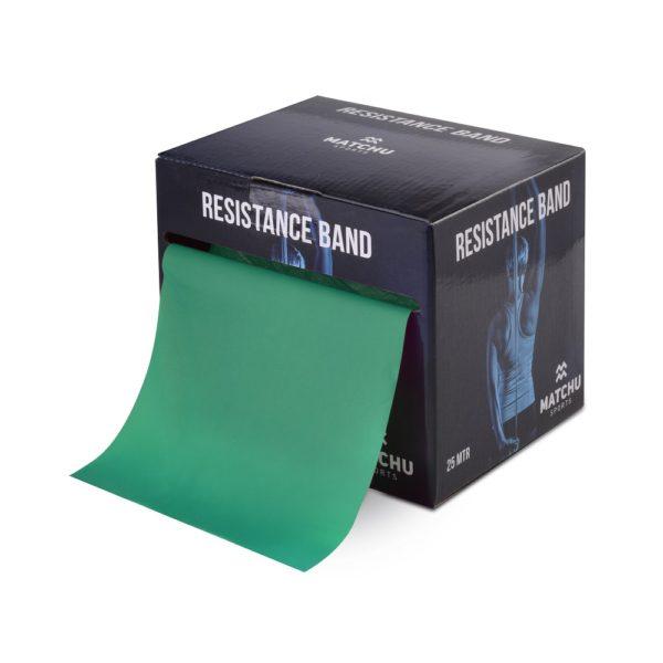 Weerstandsband groen 1,2 meter Fysio Heuveleind