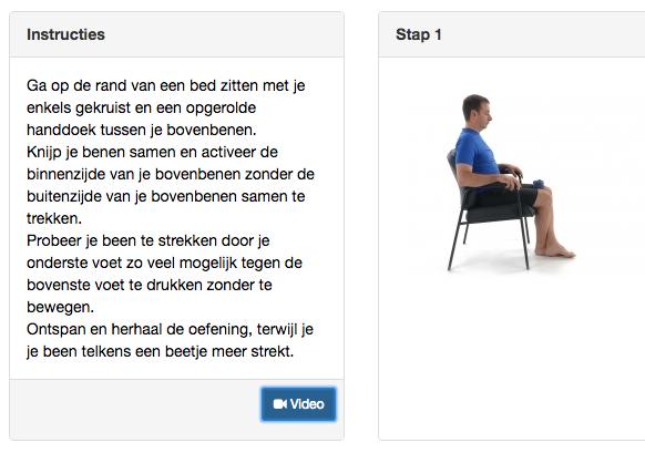 Online Fysio Oefeningen